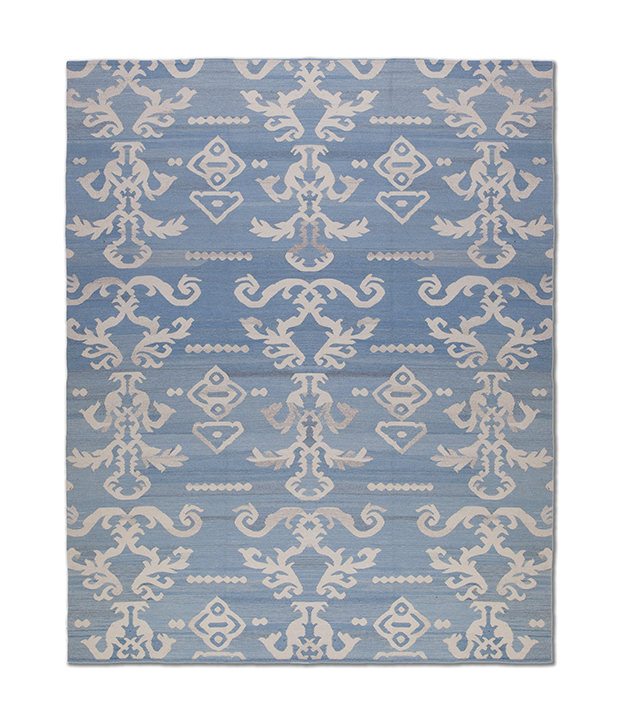 Tapete Ikat Lashimi Light Blue