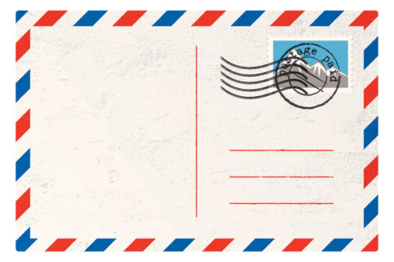 Штамп почтовой открытки, кирдий